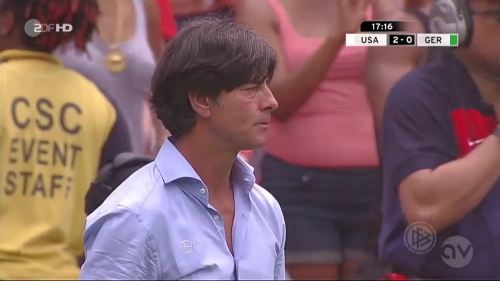 Joachim Löw - USA v Germany 6