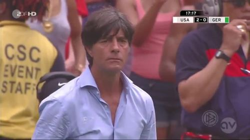 Joachim Löw - USA v Germany 7