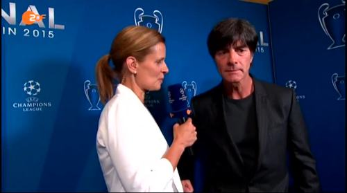 Joachim Löw ZDF interview - Champions League Finale 2015 1