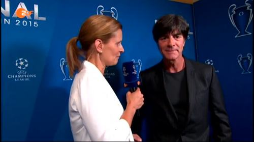 Joachim Löw ZDF interview - Champions League Finale 2015 3