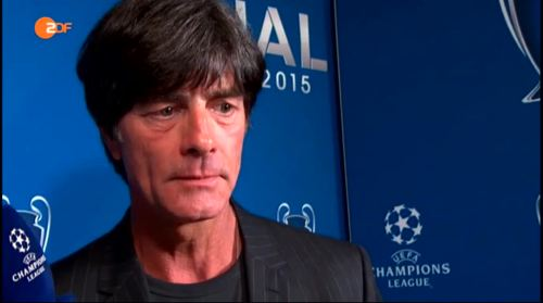 Joachim Löw ZDF interview - Champions League Finale 2015 7