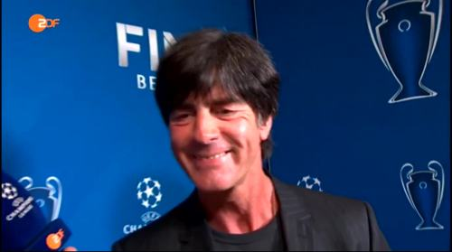 Joachim Löw ZDF interview - Champions League Finale 2015 9