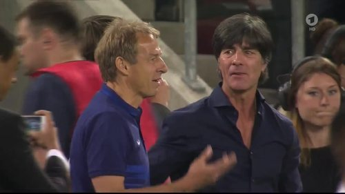 Jogi & Klinsi - Deutschland v USA - 2nd half 2