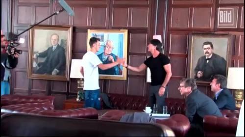 Jogi Löw - Mesut Özil interview 1