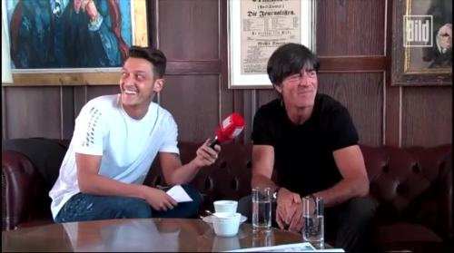 Jogi Löw - Mesut Özil interview 10