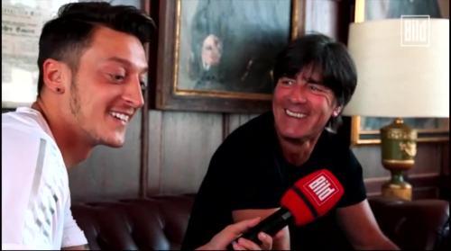 Jogi Löw - Mesut Özil interview 11