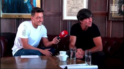 Jogi Löw - Mesut Özil interview 12
