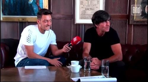 Jogi Löw - Mesut Özil interview 12