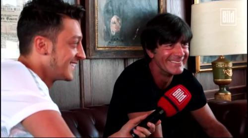 Jogi Löw - Mesut Özil interview 13
