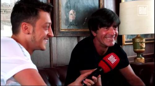 Jogi Löw - Mesut Özil interview 13