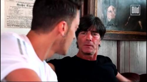 Jogi Löw - Mesut Özil interview 14