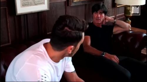 Jogi Löw - Mesut Özil interview 3