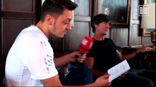 Jogi Löw - Mesut Özil interview 4