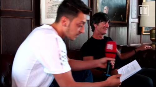 Jogi Löw - Mesut Özil interview 5