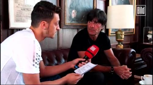 Jogi Löw - Mesut Özil interview 6