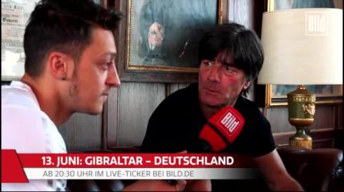 Jogi Löw - Mesut Özil interview 7