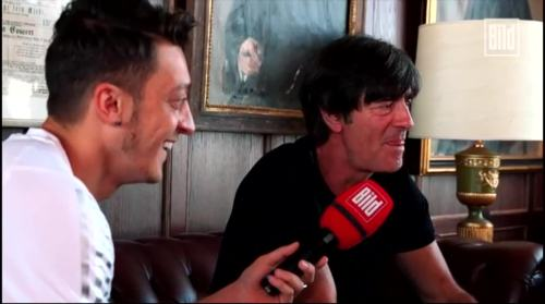 Jogi Löw - Mesut Özil interview 8