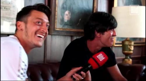 Jogi Löw - Mesut Özil interview 9