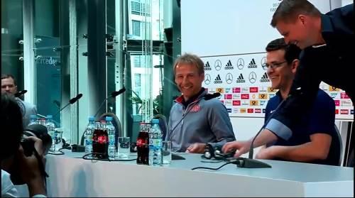 Klinsmann - Press Conference 1