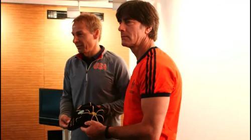 Länderspiel-Cap für Jürgen Klinsmann 1