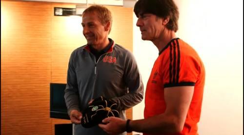 Länderspiel-Cap für Jürgen Klinsmann 2