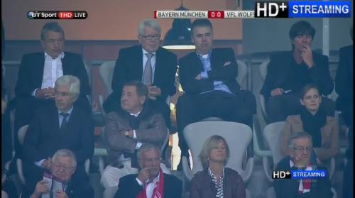 MD1 - Joachim Löw at Bayern München v VfL Wolfsburg 1