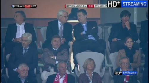MD1 - Joachim Löw at Bayern München v VfL Wolfsburg 3