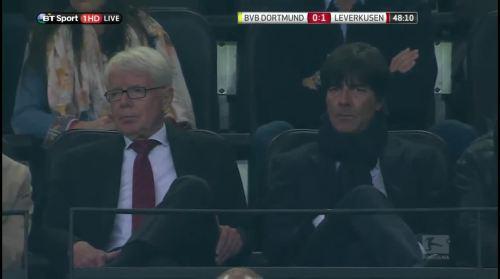 MD1 - Joachim Löw at Borussia Dortmund v Bayer 04 Leverkusen