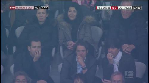 MD10 - Joachim Löw at Bayern München v Borussia Dortmund