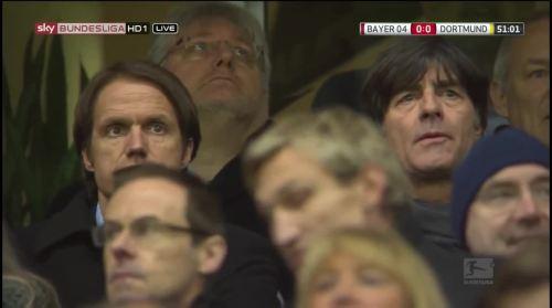 MD18 - Joachim Löw at Bayer 04 Leverkusen v Borussia Dortmund 2