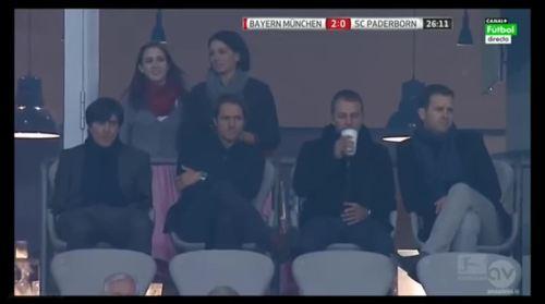 MD5 - Joachim Löw at Bayern München v SC Paderborn 07 1