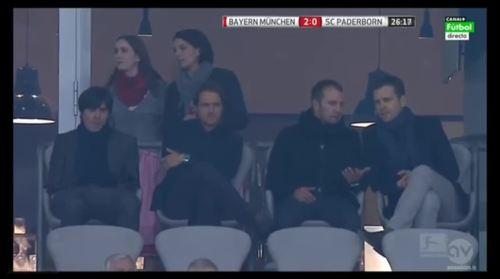 MD5 - Joachim Löw at Bayern München v SC Paderborn 07 2