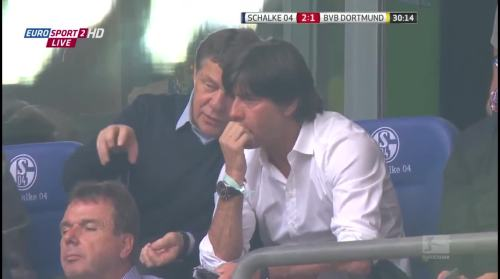 MD6 - Joachim Löw at Borussia Dortmund v FC Schalke 04