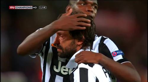 Pogba and Pirlo