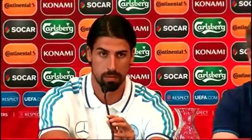 Pressekonferenz 12-06-2015 - Sami Khedira 1