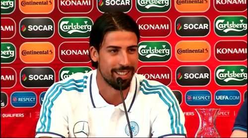 Pressekonferenz 12-06-2015 - Sami Khedira 2