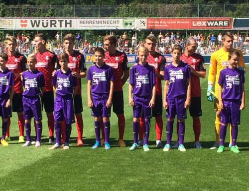 SC Freiburg - new shirts 2015-16