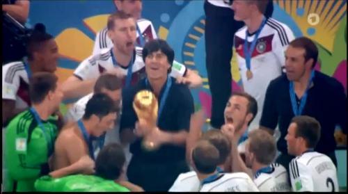WM 2014 - celebrations 1