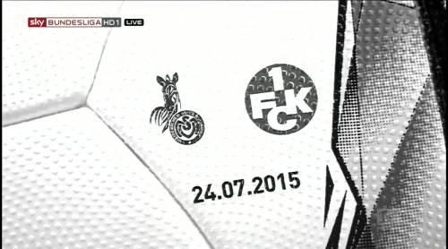 2. Bundesliga opening night 14