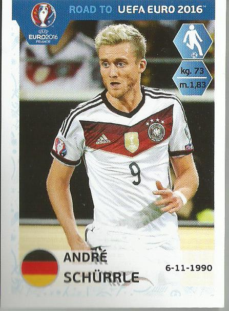 Andre Schürrle – Germany - Road to Euro 2016