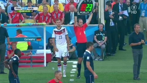 Hansi Flick – France v Germany 3