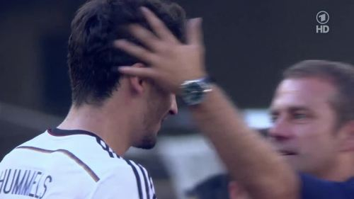 Hansi Flick – France v Germany 4