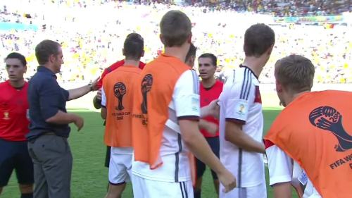 Hansi Flick – France v Germany 7