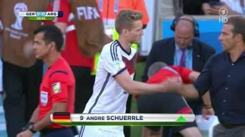 Hansi Flick – Germany v Argentina – 1st half 2