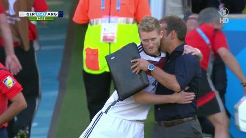 Hansi Flick – Germany v Argentina – 1st half 3