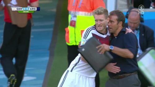 Hansi Flick – Germany v Argentina – 1st half 4