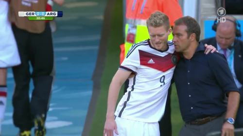 Hansi Flick – Germany v Argentina – 1st half 5