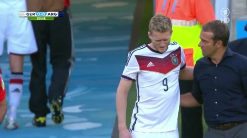 Hansi Flick – Germany v Argentina – 1st half 6