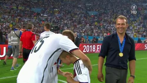 Hansi Flick – Germany v Argentina – post-match show 12