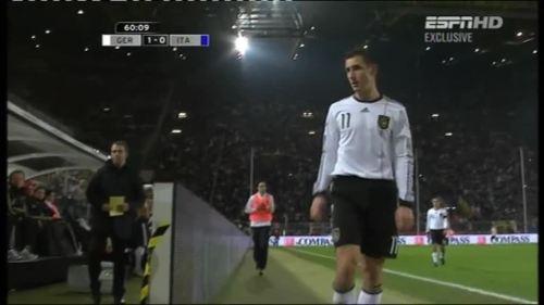 Hansi Flick – Germany v Italy 1
